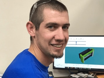 Former Intern Now Full-Time Manufacturing Engineer